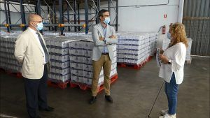 El Ministerio de Agricultura, Pesca y Alimentación distribuye 145.000 kilos de alimentos para personas desfavorecidas de Guadalajara