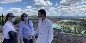 """El presidente de las Cortes reclama """"alto y claro que necesitamos agua en los embalses de la cabecera del Tajo"""""""