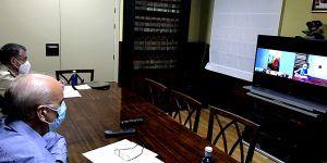 El subdelegado del Gobierno en Cuenca preside la cuarta reunión del Centro de Coordinación Provincial frente al COVID-19