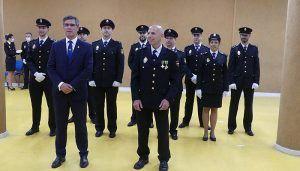 El subdelegado del Gobierno preside la jura del cargo de los policías nacionales de la XXXIV promoción que han completado la formación práctica en Guadalajara