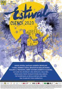 Estival Cuenca presenta su cartel y aplaza sin fecha concreta su edición 2020