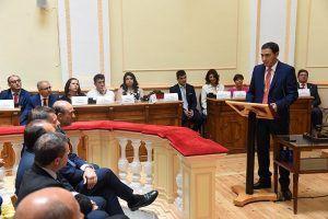 Francisco López asume las funciones de Presidencia durante el permiso de paternidad de Martínez Chana