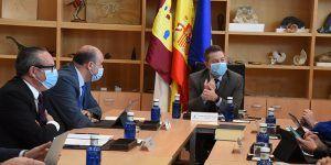 """García-Page """"El hospital de Cuenca va a ser un pretexto extraordinario para cambiar el mapa de la ciudad y permitir su expansión"""""""