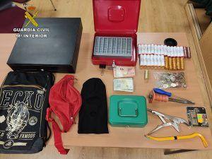 La Guardia Civil detiene a dos personas por robo en una gasolinera de Marchamalo