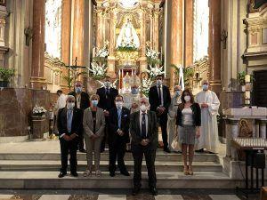 Los conquenses honran a su patrona la Virgen de la Luz en una discreta jornada a causa de la Covid-19