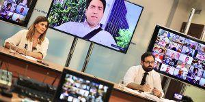 """Núñez muestra su """"orgullo, reconocimiento y aplauso"""" a los alcaldes del PP-CLM que han liderado un trabajo """"ímprobo, cercano y constante"""" durante la crisis para sacar adelante a sus municipios"""