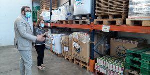 Robles agradece la labor del Banco de Alimentos y de las personas y organizaciones que colaboran con esta entidad