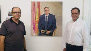 Albareda tiene previsto terminar el retrato oficial de Benjamín Prieto en septiembre