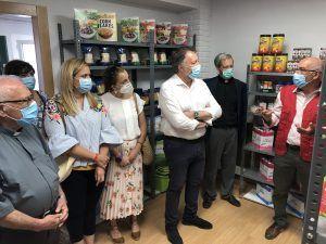 Cáritas reabre su Economato Solidario en unas nuevas instalaciones cedidas por el Ayuntamiento de Cuenca