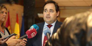 Carta del presidente del PP-CLM, Paco Núñez, al presidente de la Junta, Emiliano García-Page
