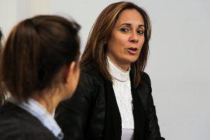 """Cristina Pinar """"Una formación integral es una herramienta muy valiosa en la lucha contra la Violencia de Género"""""""