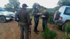 Denunciado el presidente de los cazadores de Guadalajara por negarse a obedecer a agentes medioambientales en un control