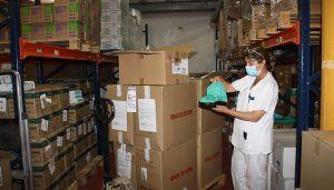 El área de Salud de Cuenca ha recibido del Gobierno de Castilla-La Mancha una nueva partida con más de 19.700 artículos de protección