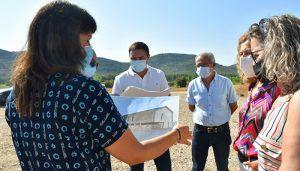 El Ayuntamiento de Cañete cede los terrenos a la Diputación para la construcción del parque de bomberos de la Serranía