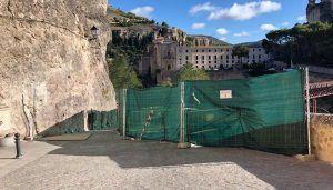 El Ayuntamiento de Cuenca aprueba el proyecto técnico para la reparación del muro y sustitución del colector de saneamiento de la calle Canónigos