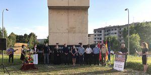 El Ayuntamiento de Cuenca honra un año más a las víctimas del terrorismo en un emotivo acto