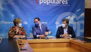 """El PP CLM exige a Page que """"optimice"""" los recursos de las Diputaciones y que no las """"utilice"""" como """"caja de tesorería"""" para suplir las carencias de la Junta"""