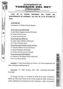 El PSOE critica que PP y Cs se opongan a la fusión de los colegios de Torrejón del Rey que ellos mismos impulsaron