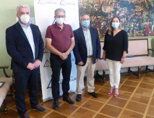 firma convenios do vino mondéjar y aceite alcarria 2 | Liberal de Castilla