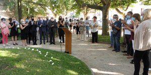 Homenaje seguntino a las víctimas del COVID19