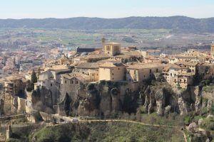 Comienza la obra de intervención sobre los paños de muralla de las traseras de la Catedral de Cuenca