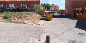 Inminentes trabajos de asfaltado en la calle Arcas y en la calle Aragón de Cabanillas
