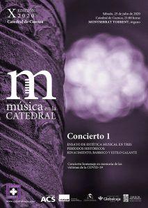 La Gran Dama del órgano español, Montserrat Torrent, inaugura la X Edición 2020 de 'Música en la Catedral' en Cuenca