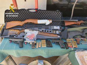 La Guardia Civil de Cuenca desarticula tres grupos criminales dedicados al tráfico de drogas en Mota del Cuervo