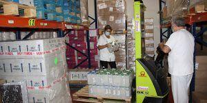 La Junta envía al área de Salud de Cuenca una nueva partida con más de 19.600 artículos de protección