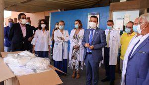 La Red Castellano Manchega de Desarrollo Rural entrega de 24.000 mascarillas al Hospital General de Guadalajara