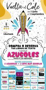 Las siete librerías de Azuqueca junto con 20 establecimientos de la localidad participan en la campaña Azucoles 2020