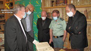 Los libros sustraídos del Seminario de Cuenca regresan de nuevo a su biblioteca tras más de 15 años de litigio
