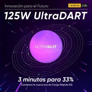 Realme presenta su nuevo sistema de carga rápida UltraDART de 125W