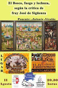 Comienzan las I Jornadas Culturales de la Asociación de Amigos del Centro y Museo Apícola de Sigüenza