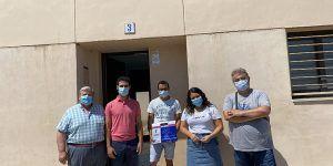 El Gobierno de Castilla-La Mancha entrega una vivienda de protección oficial en el municipio de Villamayor de Santiago