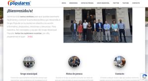 El PP en el Ayuntamiento de Guadalajara pone en marcha un nuevo canal de información a través de la web ppayuntamientoguadalajara.es