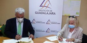El programa de envejecimiento activo en zonas rurales de ACCEM se adapta al COVID con apoyo de la Diputación de Guadalajara