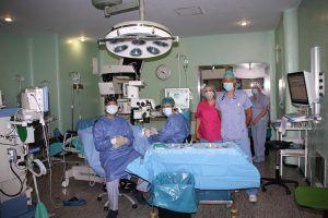El Servicio de Oftalmología del Hospital Virgen de la Luz de Cuenca ha recuperado ya el cien por cien de la actividad quirúrgica