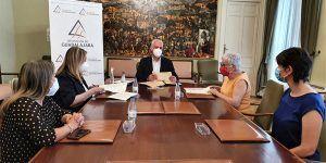 La Diputación de Guadalajara ayuda a Cruz Roja y Cáritas con 800.000 € a atender necesidades sociales en la provincia provocadas por el COVID