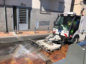 La limpieza intensiva que se está llevando barrio a barrio en Cuenca conlleva restricciones de aparcamiento en diversas zonas esta semana