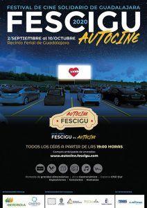 Cartel FESCIGU 2020. AUTOCINE_A3_IMPRENTA