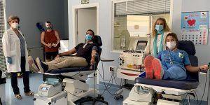 Castilla-La Mancha supera las 50.000 donaciones de sangre y aumenta un 6,3 por ciento el número de nuevos donantes respecto al 2019