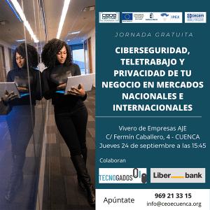 CEOE-Cepyme Cuenca pone en marcha una jornada sobre ciberseguridad en mercados nacionales e internacionales