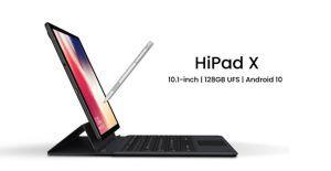 Chuwi HiPad X, almacenamiento UFS2.1 y red 4G