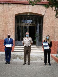 Dos alumnos de los institutos Liceo Caracense e Institución Salesiana de San José de Guadalajara, premiados en el concurso Carta a un Militar Español
