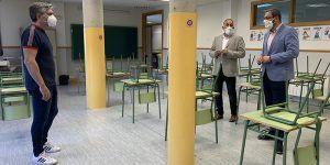 """Educación ultima con los equipos directivos de los centros educativos de Guadalajara los últimos """"ajustes"""" para un inicio de curso escolar seguro"""