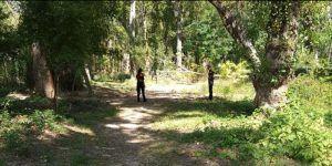 Efectivos de los cuerpos municipales participan en la búsqueda de la persona desaparecida en Cuenca