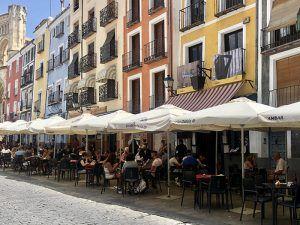 El Ayuntamasiento de Cuenca abre una consulta pública previa para la modificación de la Ordenanza municipal que regula las terrazas