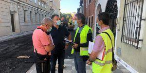El Ayuntamiento de Cuenca ha renovado ya 16.400 metros cuadrados de baldosas con el contrato de mantenimiento integral de vías públicas