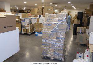 El Gobierno regional distribuye a la GAI de Guadalajara más de 109.000 elementos de protección en los envíos de las últimas semanas
